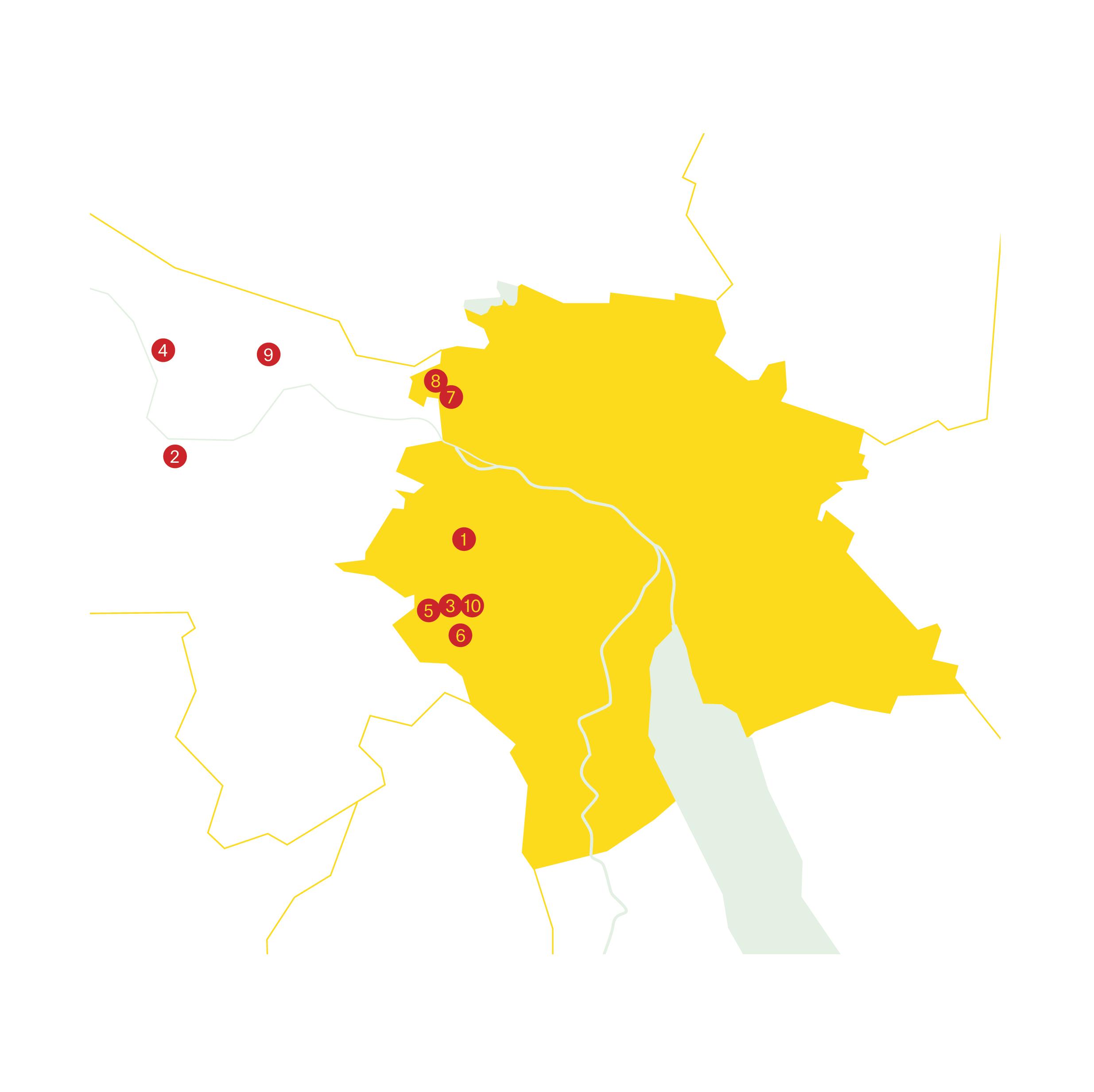 Alle Siedlungen